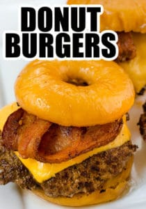 Donut Burgers - luther burger